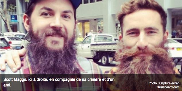 Un Australien se laisse pousser la barbe depuis 3 ans contre le cancer