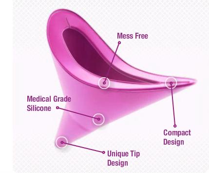 Révolution urinaire pour les femmes : faire pipi debout !  (2/4)